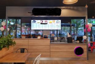 Vand mobilier fast food pentru afacere tip insula