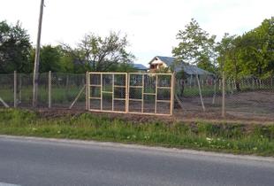 Vând teren intravilan 1061 mp în com. Străoane, jud. Vrancea la D.N. Panciu-Soveja