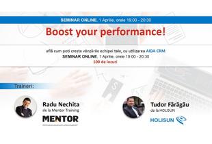 Află cum poți crește vânzările echipei tale cu Radu Nechita de la Mentor Training
