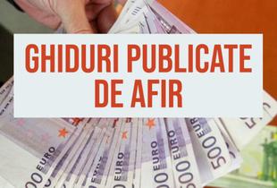 Ghidurile mult așteptate publicate de AFIR
